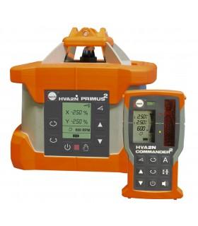 Niwelator laserowy rotacyjny NEDO PROMUS2 HVA2N z odbiornikiem